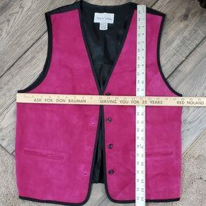 Diane Von Furstenberg Jackets & Coats - NWOT Diane Von Furstenberg Leather Vest SZ L
